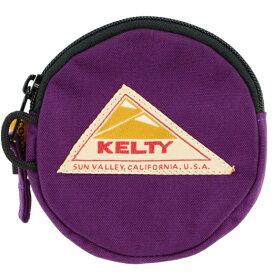 KELTY コインケース CIRCLE COIN CASE 2 サークル・コイン・ケース 2(12×12cm/Purple)2592352