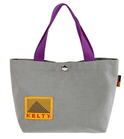KELTY トートバッグ 80s MINI TOTE 80s ミニトート(17×29×10cm・3L/Gray×Purple)2592448