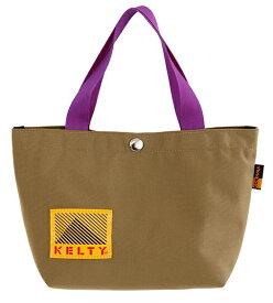 KELTY トートバッグ 80s MINI TOTE 80s ミニトート(17×29×10cm・3L/Tan×Purple)2592448
