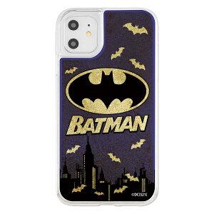 イングレム iPhone 11 / XR / 『バットマン』/ラメ グリッターケース/バットマンロゴ イングレム IJ-WP21LG1G/BM5