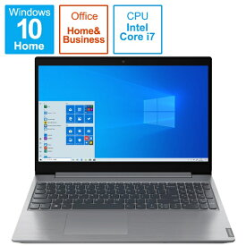 レノボジャパン Lenovo 82HL001BJP ノートパソコン IdeaPad L360i プラチナグレー [15.6型 /intel Core i7 /SSD:512GB /メモリ:8GB /2021年4月モデル]