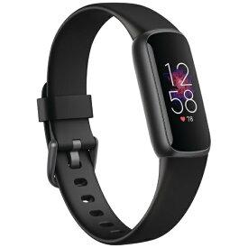 Fitbit フィットビット Fitbit Luxe フィットネストラッカー ブラック/グラファイト L/Sサイズ FB422BKBK-FRCJK