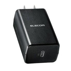 エレコム ELECOM AC - USB充電器 ノートPC・タブレット対応 45W [1ポート:USB-C /USB Power Delivery対応] ブラック ACDC-PD1645BK