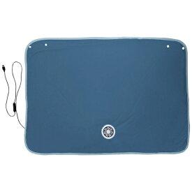 ニコット USB COOL BLANKET USBファン付冷感ブランケット ネイビー 544999-NV
