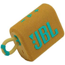 JBL ジェイビーエル ブルートゥース スピーカー イエロー JBLGO3YEL [Bluetooth対応 /防水]