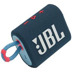 JBL ジェイビーエル ブルートゥース スピーカー ブルーピンク JBLGO3BLUP [Bluetooth対応 /防水]【point_rb】