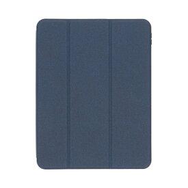 OWLTECH オウルテック 11インチ iPad Pro(第3/2/1世代)用 Apple Pencilホルダー付きケース ネイビー OWL-CVID1101-NV