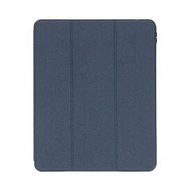 OWLTECH オウルテック 12.9インチ iPad Pro(第5/4/3世代)用 Apple Pencilホルダー付きケース ネイビー OWL-CVID12901-NV
