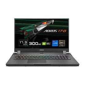 GIGABYTE ギガバイト ゲーミングノートパソコン AORUS 17G【英語キーボード】 XD-73JP345SH [17.3型 /intel Core i7 /メモリ:32GB /SSD:512GB /2021年5月モデル]