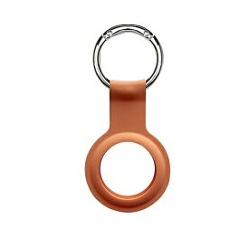 BELEX ビーレックス AirTag silicon Key Ring(エアタグ シリコンキーリング) オレンジ DEVIA BLDVAT01-PR
