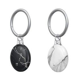 KUTUROGIAN クツロギアン Prismart AirTag Case(プリズマート エアタグ ハードケース) Marble CaseStudi Marble CS-AT-PA-MB