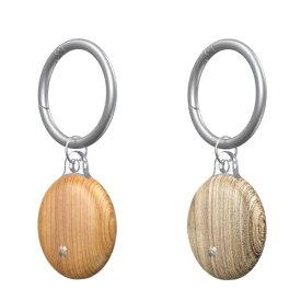 KUTUROGIAN クツロギアン Prismart AirTag Case(プリズマート エアタグ ハードケース) Wood CaseStudi Wood CS-AT-PA-WDC