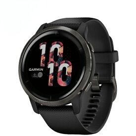 GARMIN ガーミン 010-02430-61 Venu 2 Black / Slate