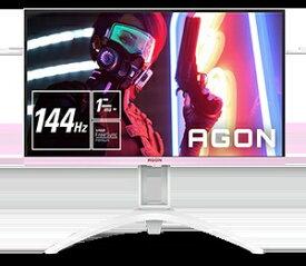 AOC エーオーシー ゲーミングモニター ホワイト&ピンク AG273FXR/11 [27型 /フルHD(1920×1080) /ワイド]