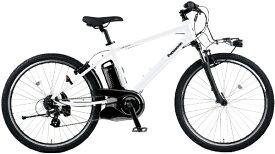 パナソニック Panasonic 電動アシスト自転車 ハリヤ Hurryer クリスタルホワイト BE-ELH442F [26インチ /7段変速]【2021年モデル】【組立商品につき返品不可】 【代金引換配送不可】