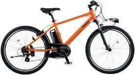 パナソニック Panasonic 電動アシスト自転車 ハリヤ Hurryer パールオレンジ BE-ELH442K [26インチ /7段変速]【2021年モデル】【組立商品につき返品不可】 【代金引換配送不可】