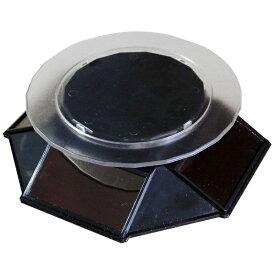 プラッツ PLATZ ソーラーターンテーブル120 黒