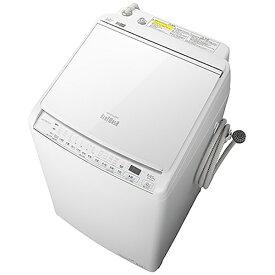 日立 HITACHI 縦型洗濯乾燥機 ビートウォッシュ BW-DV80G-W [洗濯8.0kg /乾燥4.5kg /ヒーター乾燥(水冷・除湿タイプ) /上開き][洗濯機 8kg]【2111_rs】