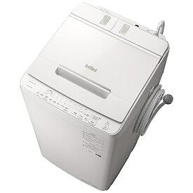 日立 HITACHI 全自動洗濯機 ビートウォッシュ ホワイト BW-X100G-W [洗濯10.0kg /簡易乾燥(送風機能) /上開き][洗濯機 10kg]