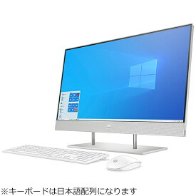 HP エイチピー デスクトップパソコン HP 27-dp0000 AiO 1V7J0AA-AAAA [27型 /intel Core i5 /メモリ:8GB /HDD:2TB /SSD:512GB /2021年5月モデル]
