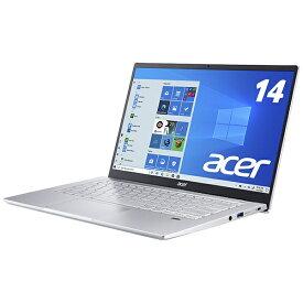 ACER エイサー SF314-511-N58Y/S ノートパソコン Swift 3 ピュアシルバー [14.0型 /intel Core i5 /SSD:512GB /メモリ:8GB /2021年5月モデル]【point_rb】