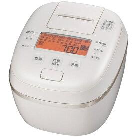 タイガー TIGER 炊飯器 エクリュホワイト JPI-G100WE [5.5合 /圧力IH]