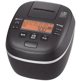 タイガー TIGER 炊飯器 ミネラルブラック JPI-G180KL [1升 /圧力IH]