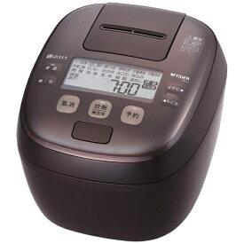 タイガー TIGER 炊飯器 ダークブラウン JPI-H100TD [5.5合 /圧力IH]