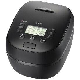 タイガー TIGER 炊飯器 マットブラック JPH-J100KM [5.5合 /圧力IH]