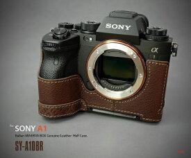 リムズ LIM'S ソニー α1用本革カメラハーフケース ブラウン SY-A1DBR