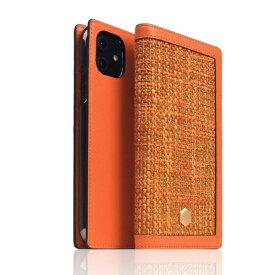 ROA ロア iPhone 12/12 Pro 6.1インチ対応Edition Calf Skin Leather Diary オレンジ