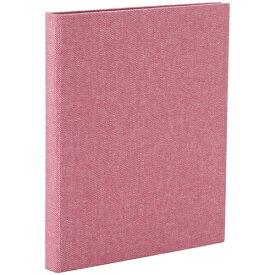ナカバヤシ Nakabayashi コット ポケットアルバム ハーフサイズプリント 縦向き80枚 ピンク