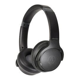 オーディオテクニカ audio-technica ブルートゥースヘッドホン ブラック ATH-S220BT BK [リモコン・マイク対応 /Bluetooth]【rb_cpn】