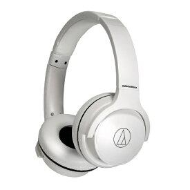 オーディオテクニカ audio-technica ブルートゥースヘッドホン ホワイト ATH-S220BT WH [リモコン・マイク対応 /Bluetooth]【rb_cpn】