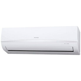 アイリスオーヤマ IRIS OHYAMA 【標準工事費込み】IRR-2221C-W エアコン 2021年 airwill(エアウィル) ホワイト [おもに6畳用 /100V]