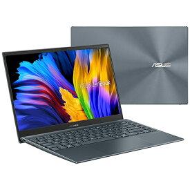 ASUS エイスース UX325JA-KG252B ノートパソコン ZenBook 13 OLED【有機EL】 パイングレー [13.3型 /intel Core i7 /メモリ:16GB /SSD:512GB /2021年6月モデル]【point_rb】