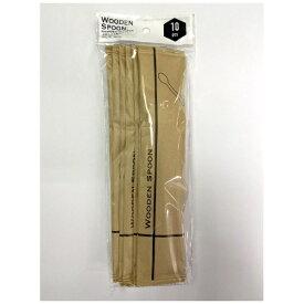 KSインターナショナルマネジメント 単袋入り木製スプーン160mm 10本