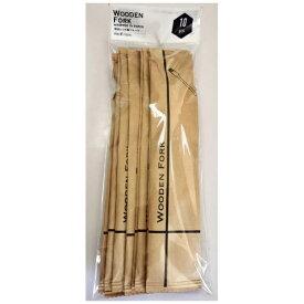 KSインターナショナルマネジメント 単袋入り木製フォーク160mm 10本