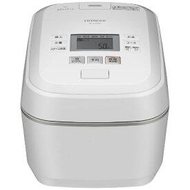 日立 HITACHI 炊飯器 圧力&スチーム ふっくら御膳 フロストホワイト RZ-V100EM-W [5.5合 /圧力IH]