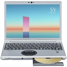 パナソニック Panasonic CF-SV1FDMQR ノートパソコン レッツノート SVシリーズ ブラック&シルバー [12.1型 /intel Core i5 /メモリ:16GB /SSD:256GB /2021年6月モデル]【rb_winupg】