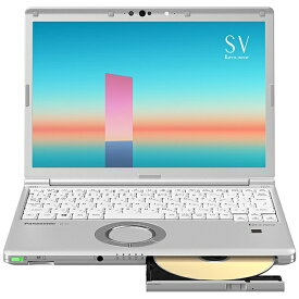 パナソニック Panasonic CF-SV1FDSQR ノートパソコン レッツノート SVシリーズ シルバー [12.1型 /intel Core i5 /メモリ:8GB /SSD:256GB /2021年6月モデル]【rb_winupg】