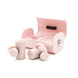 BOCO ボコ フルワイヤレス骨伝導イヤホン earsopen サクラピンク PEACE-TW-1 [リモコン・マイク対応 /ワイヤレス(左右分離) /Bluetooth]