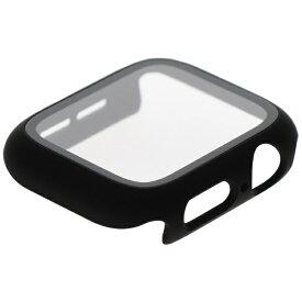 avail Apple watchガラスケース AppleWatchを傷から守るオールインワン ブラック ET-CG40-AWBK