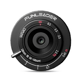 FUNLEADER ファンリーダー ボディキャップレンズ FUNLEADER CAPLENS 18mm f/8.0 M ライカMマウント用 ブラック FL188M(B)