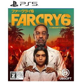 【2021年10月07日発売】 ユービーアイソフト 【初回特典付き】ファークライ6 通常版【PS5】 【代金引換配送不可】