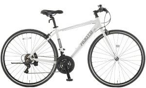 アサヒサイクル Asahi Cycle 700×28C クロスバイク ROOTS ルーツL21(パールホワイト/外装21段変速)SR700B【2021年モデル】【組立商品につき返品不可】 【代金引換配送不可】