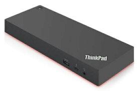 レノボジャパン Lenovo ThinkPad Thunderbolt 3 Workstation ドック 2 - 230W[Thunderbolt3 オス→メス HDMIx2 / DisplayPortx2 / LAN / φ3.5mm / USB-Ax5 / USB-C] ブラック 40ANY230JP