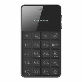 フューチャーモデル Future Model Niche Phone-S+ ブラック 「MOB-N18-01-BLACK」 0.96型 RAM / ROM:512MB/4GB nanoSIMx1 SIMフリー携帯電話