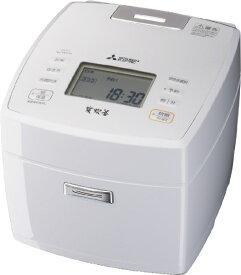 三菱 Mitsubishi Electric 炊飯器 炭炊釜 月白(げっぱく) NJ-VVC18-W [1升 /IH]