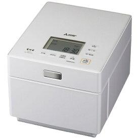 三菱 Mitsubishi Electric 炊飯器 蒸気レスIH クリスタルホワイト NJ-XSC10J-W [5.5合 /IH]